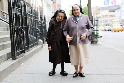 humansofnewyork:  Mother Joyous and Sister Adorable were seen walking down 14th Street yesterday.