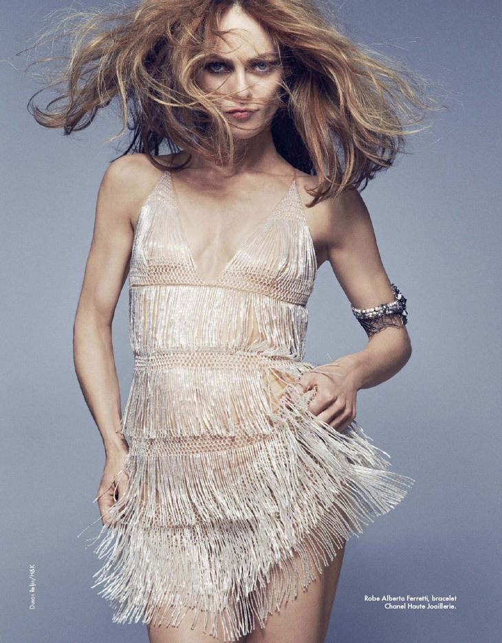 classicmodels:   Vanessa Paradis by Dusan Reljin for Elle France
