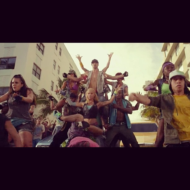 #nowwatching step up revolution. Sorry na ang late.  Galing!