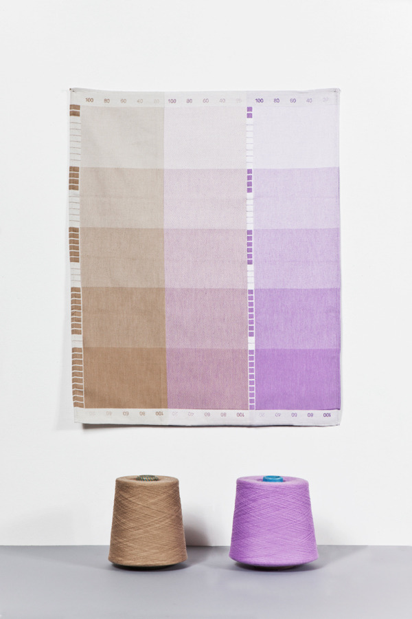 stua:  Raw Color, Index collection towels.
