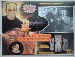 ronaldcmerchant:  mexican lobby card for the BRIDE OF FRANKENSTEIN (1935)