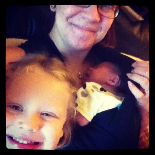 My little bugs.  (at Jorgensen Abode)