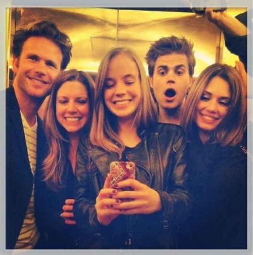 helenpony:  Paul and Torrey and Matt in Paris