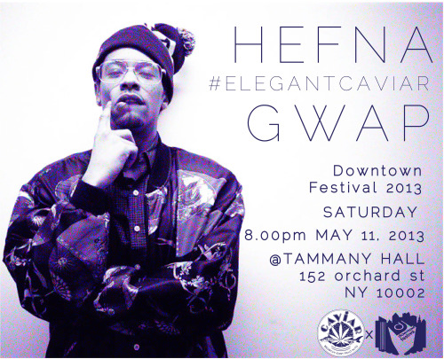 It's about to be ONE TURNT up night! Get your tix to see Hefna Gwap LIVE & many more at this year's Downtown Music Festival: CLICK HERE