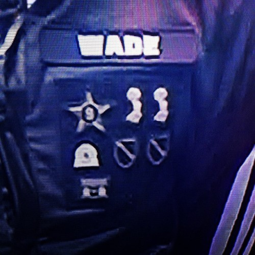 Really diggin the #badges on the Aviator warm up jackets for the #NBAAllStar game.  @addidasus