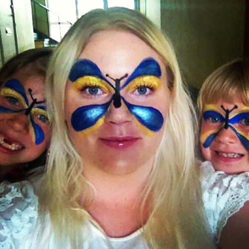 joannasvard:  Butterfly girls! 💛💙💛 #esc#eurovision#schlager#robinstjernberg#heja#hejasverige#sverige#sweden#butterfly#fjäril  Final Tonight! WE ARE ONE! On the 18th of May, we will come together to celebrate the biggest song contest on earth. Will you join? Eurovision Song Contest 2013 Malmö, Sweden