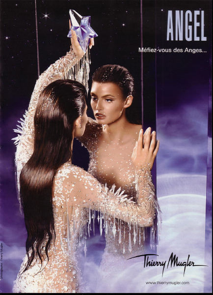 fashionablesins:  Bianca Balti for Angel by Thierry Mugler