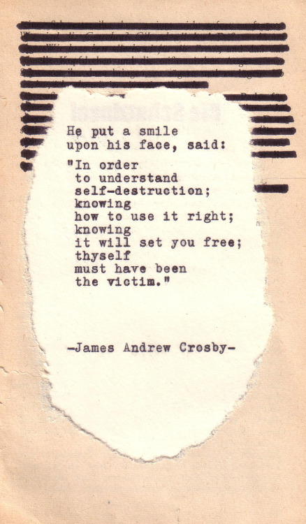 jamesandrewcrosby:  Typewriter Poetry #243 by James Andrew Crosby
