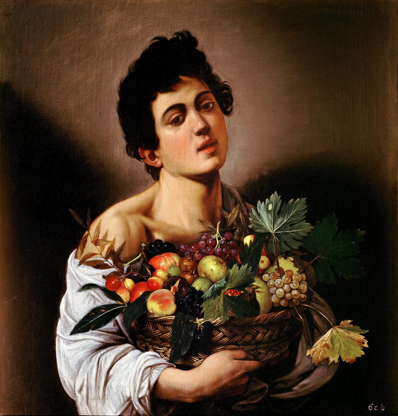 """Caravaggio's flower and fruit pieces, half-figures of frivolous boys and musical scenes are extremely charming and amusing, and their loss would certainly be perceptible. However, it should not be forgotten that after the few years in which he produced these youthful, bohemian canvases, he turned his attention almost entirely to the creation of monuments of devotion, all of which are permeated with the same desire to realize the unrealizable, to bring the miracle within the immediate grasp and understanding of everyone."" - Walter Friedlaender"