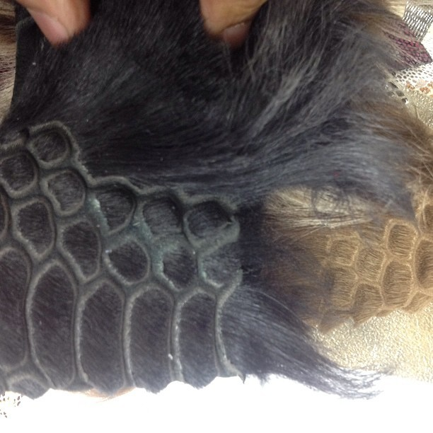 Amazing Fur technique. Make fur look like Croc. #sexy #croc #skins #fur #fashion #ig #igers #gay #gayboy #gaystyle #stylemonk #gays #talent #iphone #nyc #fashionweek #yummy #outerwear #menswear #womenswear #luxuryclient #client