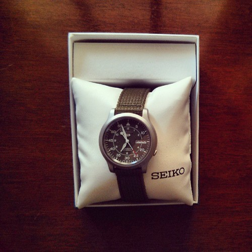 New watch :)