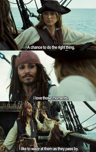gluntcheeseworgtwit:  lol, i do love jack sparrow!