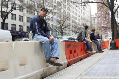 "humansofnewyork:  ""I don't got no struggles, man. I got divorced six years ago. Then one day I looked up my first love on Facebook, and she was still single. Now I'm marrying the girl I lost my virginity to, and hopefully we'll grow old together."""