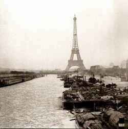 mimbeau:  Paris The Seine frozen  1893