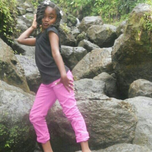My Lil lady.. Love this picture.