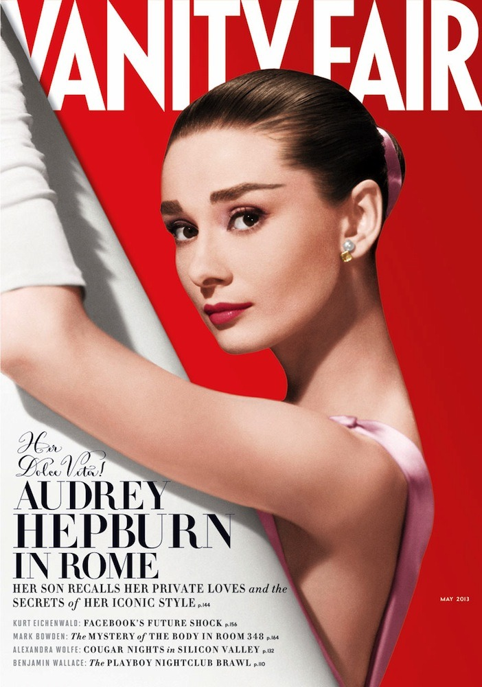 vanityfair:  Audrey Hepburn's Dolce Vita | The May 2013 Issue of Vanity Fair.