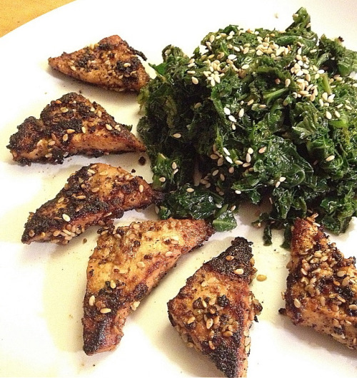 (Click here for recipe Japanese Kale Salad)