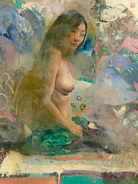 thefineartnude:  Kent Williams, Yellow Bird