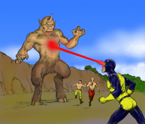 captainhowdyinspace:  Cyclops V Cyclops