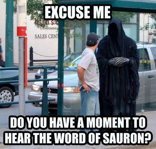 johnnysalterego:  Word of Sauron