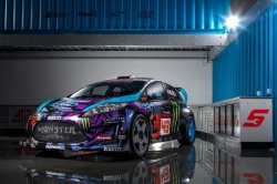Ford Unveils the Fiesta ST GRC | Hypebeast(via Fancy)