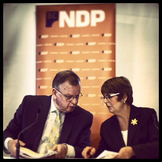 First election presser is a wrap. 30 some odd days left. #bcpoli #ndp #vancouver #5DIII