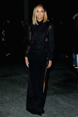 fuckyeahciaraharris:  Ciara arrives to Givenchy show