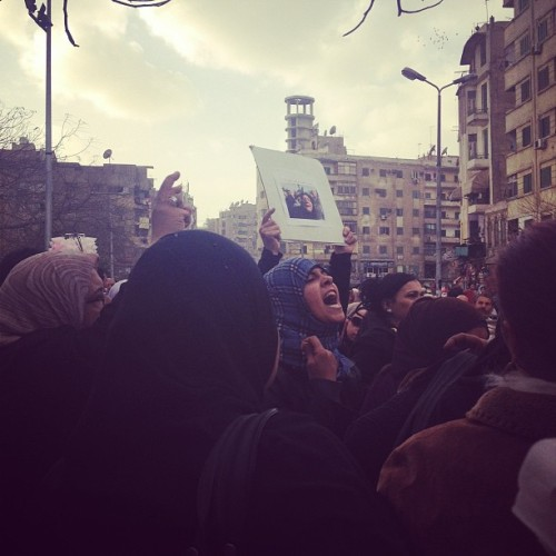 'We the youth will liberate egypt' - march against sexual harassment, 6th Feb 2013