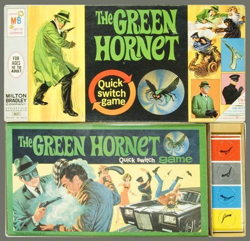 The Green Hornet Quick Switch Game (1966)