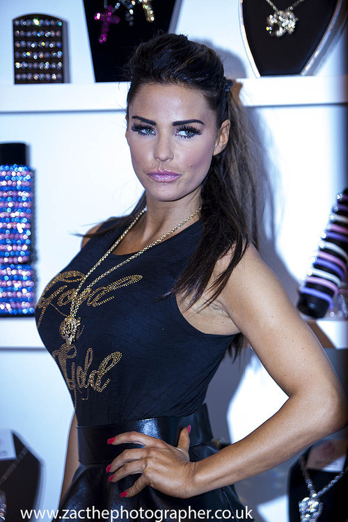 Katie Price at the Clothes Show Live 2012 in Birmingham England photographed by zac thephotographer