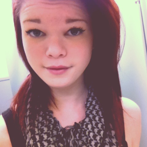 My hair is so red omg <3