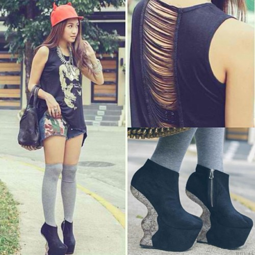 Fashion blogger Laureen Uy @laureenmuy rocking her DAS43! Love the way you stuled it doll😘 #dasshoes #bloggers #dasdoll