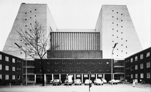Opera Cologne, Cologne, Germany,  1952-57Wilhelm Riphahn Image taken from sanierung.buehnekoeln.de (via: bibliophilo)