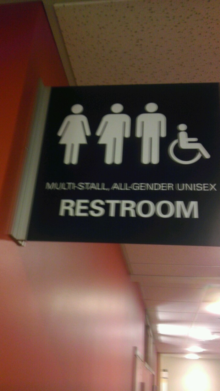 Love gender neutral restrooms!