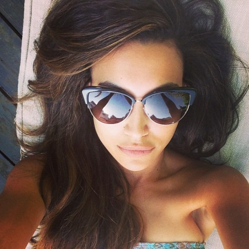 fyeahgleeclub:  nayarivera Back in LA but keeping the vacation going…
