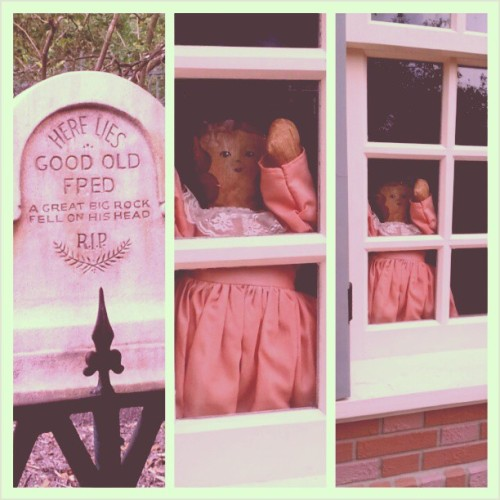 Creepy things… #DisneyWorld
