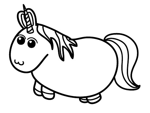Fat Unicorn Party!       via theuniblog.evilspacerobot.com     .