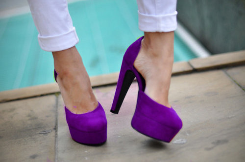 The perfect shade of purple.