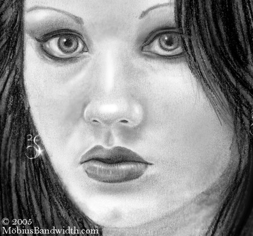 pencil on paper (detail)  http://mobiusbandwidth.com/ http://j-mobius.deviantart.com/gallery/