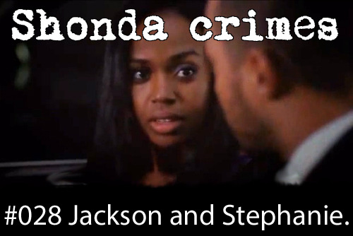 shondacrhimes:  Shonda crimes number: 28- Jackson Avery and Stephanie Edwards.