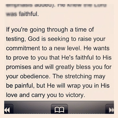 littlethingsaboutgod:  The stretching may be painful, but He will wrap you in HIs love and carry you to victory.