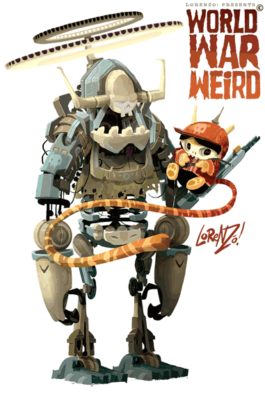 World War Weird: 2 by STUDIOBLINKTWICE - Follow @garabatweet and Garabating on Facebook -