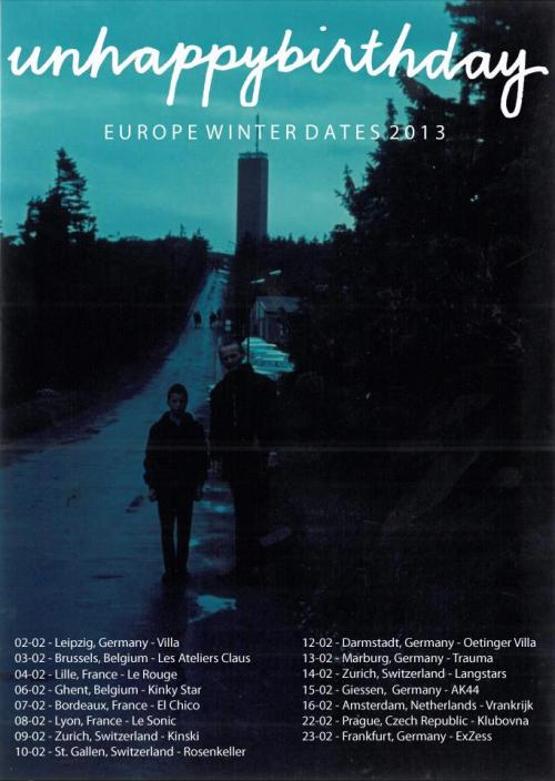 European Tour Dates! We can't wait!!5th & 11th TBC.