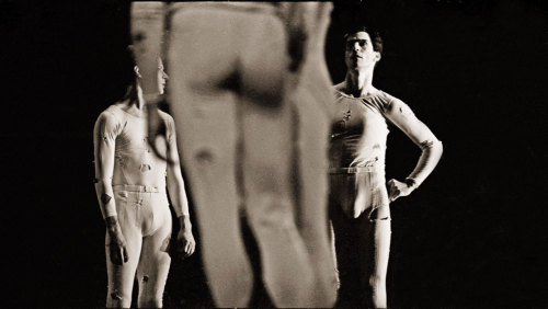 In rehearsal with the Merce Cunningham Dance Company – London | October 1989