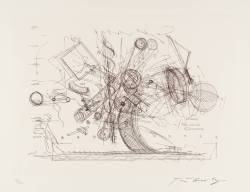 i12bent:  Jean Tinguely: Chaos (drawing for a self-destroying meta-machine), Tate
