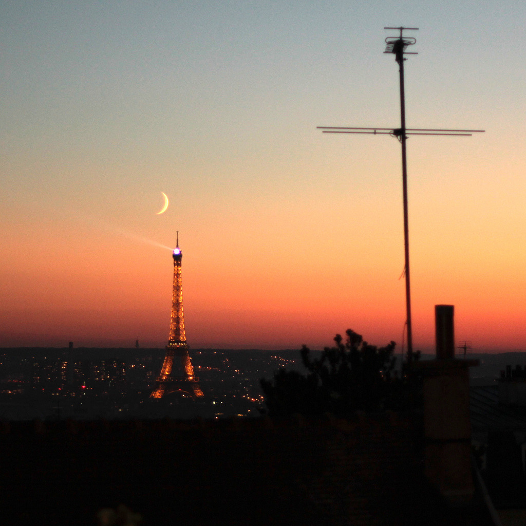 Sunset from Montmartre (by ▲ Jeremie Carrere ▲)