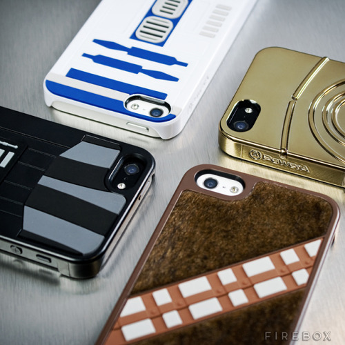 laughingsquid:  Star Wars Themed Character Cases For iPhone 5  Yes. Just Yes. If someone got me one of these I might have to trade them my soul.