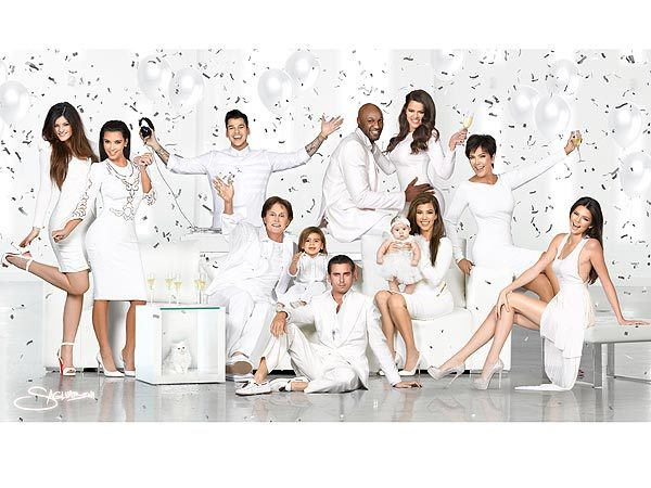 """I love our Christmas card!"" - Khloé Kardashian-Odom, gushing about her family's 2012 Christmas card, on Twitter"