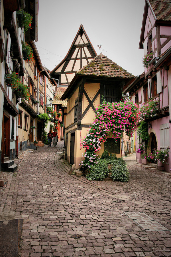 travelingcolors:  Eguisheim | France (by Sébastien Croës)