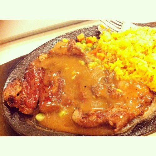 T-Bone coz Imma T-rex :)) 👍 (at Steak Escape)